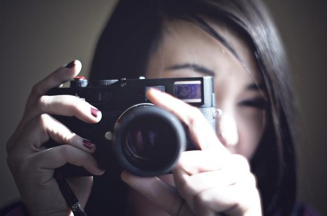 カメラマン画像