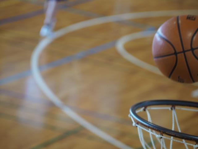 バスケットゴール画像