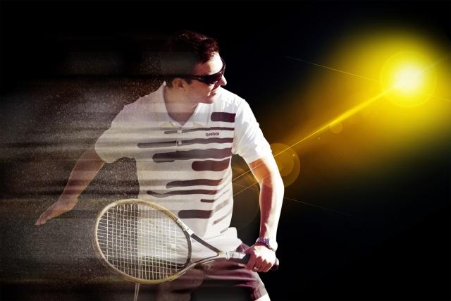 テニス選手の画像