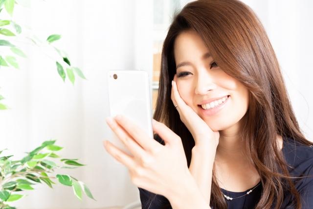可愛い女性の画像