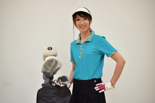 ゴルフ女子画像