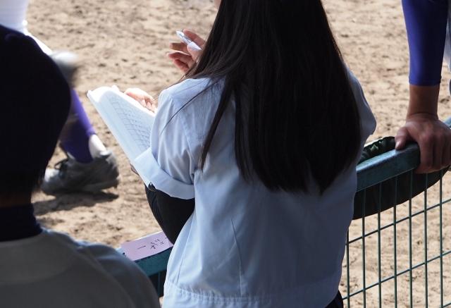 高校野球の女子マネージャー画像