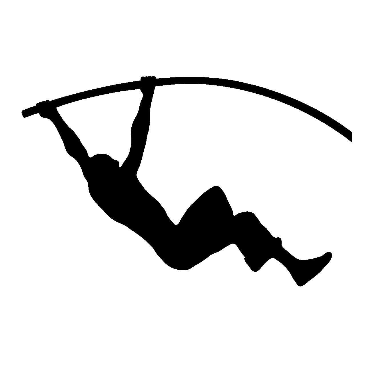 棒高跳びの画像