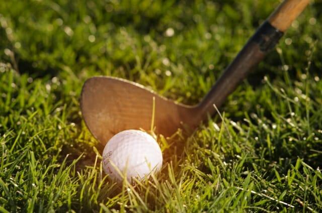 ゴルフのスイングの画像